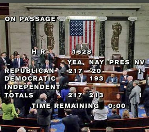 """Trumpcare"" Passed the House Without a Single Democrat Vote"